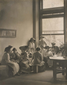 Rest Hour at the Columbia Teachers College, 1921
